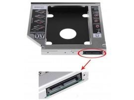 """ADAPTER ZA VGRADNJO SSD/HDD 2,5"""" V CD/DVD ENOTO 9,5MM OPTIČNE POGONE (AD0017)"""