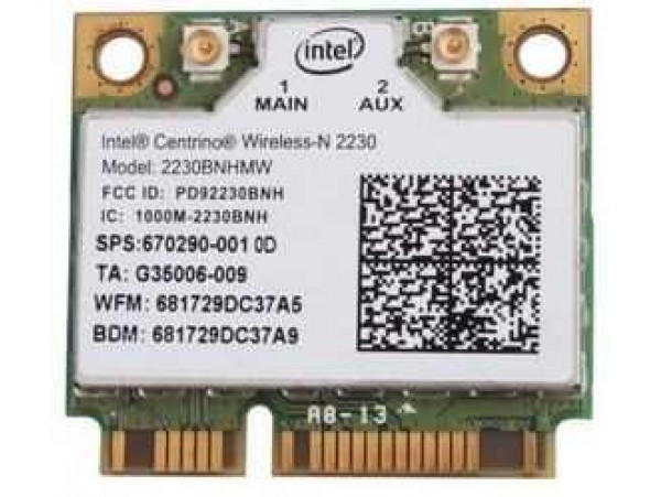 Wlan kartica Bluetooth 4.0 PCI-E Intel 2230BNHMW HP Pavilion DV7-7000sm / 670290-001 / DEMO