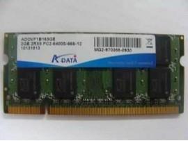 """Pomnilnik ADATA DDR2 2GB 2R 2RX8 PC2-6400S-666-12"""""""