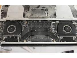 Čiščenje in zamenjava beterije Apple MacBook Pro A1398 (LATE 2013, MID 2014)