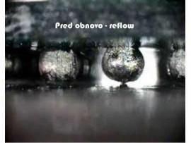POPRAVILO GRAFIČNEGA ČIPA NA MATIČNI PLOŠČI - REFLOW