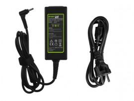 AC Polnilec Green Cell za prenosnik Asus ZenBook Cromebook VivoBook 3.0-1.1mm 19V 2.37A 45W
