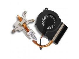 Hladilno jedro + CPU ventilator za HP COMPAQ 616 625 CQ42 CQ56 G56 CQ56-112 CQ56-115 CQ62 / 606609-001 / 3 pin / DEMO