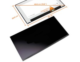 "LCD LED ZASLON 15.6"" N156HCG-GT1-C1 350mm za prenosnik HP, LENOVO, DELL, ASUS, ACER / FHD 1920X1080 IPS / 30PIN DESNO / MAT / TANEK / BREZ NOSILCEV"