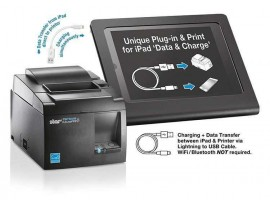 POS Termični tiskalnik Star TSP143IIIU ECO, USB, rezalnik, hitrost 250mm/s, barva črna , podpora Windows 7,8,10,iOS,MAC OS, Linux, Android