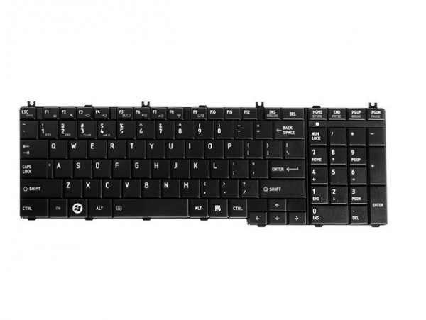 Tipkovnica za Toshiba Satellite C655 C655D L750 L750D L755 L755D L675D / QWERTZ) standard EU