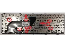 Tipkovnica za HP ProBook 650 G1 655 G1 / 738696-BA1 / SG-61300-2YA / (QWERTZ) Š Đ Ž Ć Č SLOV