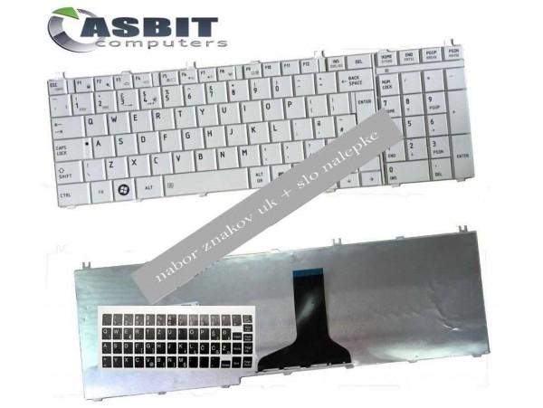 Tipkovnica za Toshiba Satellite L675 L675D L770 L770D L660 L655 L755D / (QWERTZ) standard EU