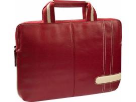 KRUSELL torba za prenosnik GAIA Slim 16'', rdeča