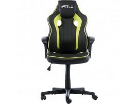 Gaming stol Bytezone TACTIC (črno-zelen)