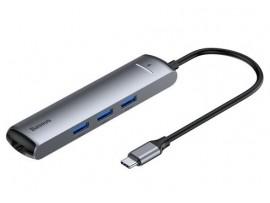 USB Type-C priklopna postaja BASEUS 6v1 (docking station)