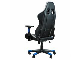 Gaming stol Bytezone THUNDER (črn-moder)