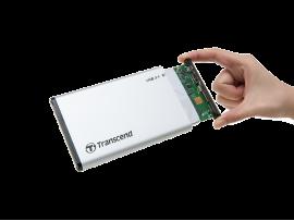 """Zunanje ohišje TRANSCEND za disk HDD/SSD 2,5"""""""