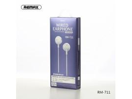 Slušalke REMAX RM-711 srebrne