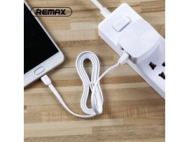 Polnilec REMAX 2.4 A Dual & Micro USB kabel RP-U215 EU bel