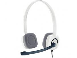 Slušalke Logitech H150, bele, stereo