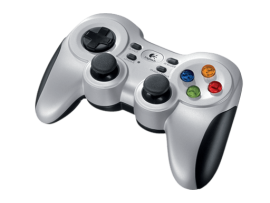 Igralni plošček Logitech F710, brezžičen