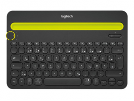 Tipkovnica Logitech K480 Multi-Device, črna, SLO g.