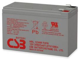 Nadomestna baterija za UPS, 12V, 9Ah, HITACHI-CSB HRL 1234W