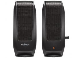 Zvočniki Logitech OEM S120, 2,3W RMS, črni