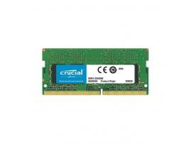 RAM SODIMM DDR4 4GB PC4-19200 2400MT/s CL17 SR x8 1.2V Crucial