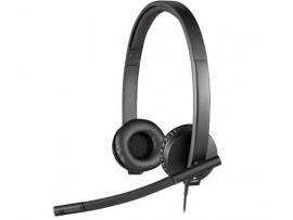 Slušalke Logitech OEM, H570e, stereo, USB
