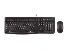 Tipkovnica in miška Logitech Desktop MK120, USB, US