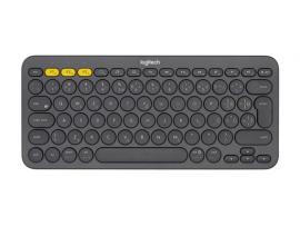 Tipkovnica Logitech K380 Multi-Device, temno siva, SLO g.