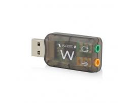 Zvočna kartica USB Virtual 5.1 3D, Ewent