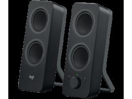 Zvočniki Logitech Z207 2.0, Bluetooth, črni