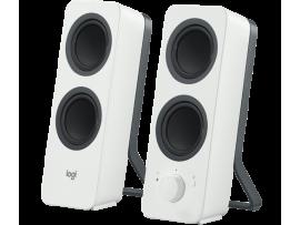 Zvočniki Logitech Z207 2.0, Bluetooth, beli