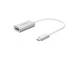 Adapter USB-C v DP 4K, aluminij, ORICO XC-103-SV