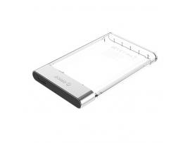 """Zunanje ohišje za HDD/SSD 2,5"""" USB 3.0 UASP v SATA3, prozorno, ORICO 2129U3"""