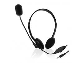 Slušalke Ewent, za telefone/tablice, nadzor glasnosti, mikrofon, EW3567