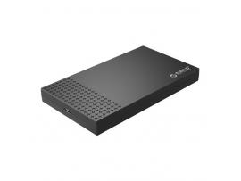 "Zunanje ohišje za HDD/SSD 2,5"" USB-C 3.0 UASP v SATA3, črno, ORICO 2526C3"