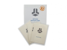 Bitbox Backup card, 3 pack