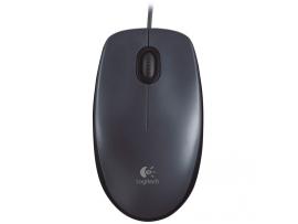 Miška Logitech M90, USB, črna